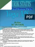 Fisika Listrik Statis (Yoga M,S)