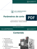 M0505 Fresado Parametros de corte y seleccion de herramientas.pdf