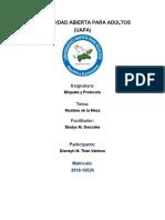 Etiqueta y Protocolo (Tarea 4)