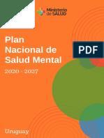 Plan Nacional de Salud Mental  2020-2027 aprobado
