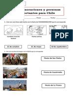 Guía conmemoraciones y personas importantes chile 1° basico (2)