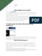 CARDERNO DE ATIVIDADES