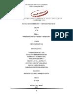 ELPODER POLITICO, ESTADO Y DERECHO. CIENCIAS POLITICAS (3)