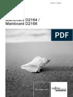 Mnual mainboard Fujitsu Siemens Esprimo model DT7-D2164 .pdf