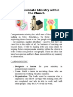 Compassionate Ministry In the Church