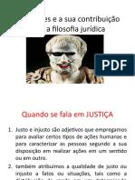 Aristóteles e a sua contribuição para o Direito