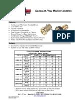 10 Monitor Nozzle - Constant Flow _CMNB, CMNB1000_