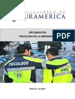 UNIDAD DIDÁCTICA 3.PSICOLOGIA DE LA EMERGENCIA