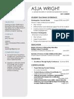 asja wright resume 2020 -pdf