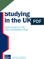 UK Student Visa (Tier4) General Guide - StudyingintheUKguide