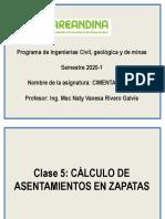 Clase 5 Calculo de asentamientos zapatas.pdf