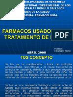 FARMACOS USADOS EN EL TRATAMIENTO DE LA TOS