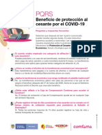Preguntas Beneficio Proteccion al Cesante por Covid 19