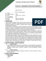 SILABO DE ORGANIZACION Y CONSTITUCION-ENFERMERÍA