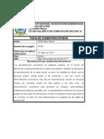 Carlos - FICHA CMENTARIO COMPLETA