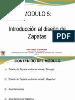 Módulo 5. Cim Sup - Zapatas.pdf
