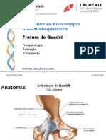 Aula - Lesões, Avaliação e TTO do Quadril, tornozelo e pé (Ranulfo) (1).ppt