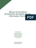 Bancos Comunitários de Sementes de Adubos Verdes- Informações Técnicas