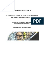 Resumo MURILO RUBIÃO - INSÓLITO, ANTROPOFÁGICO E SURREALISTA