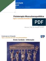 Aula - Tipos e conceitos de lesões musculoesqueléticas (Ranulfo 2018)