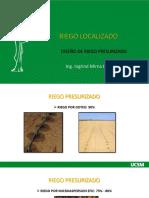 DISEÑO DE RIEGO PRESURIZADO CLASE Nº2