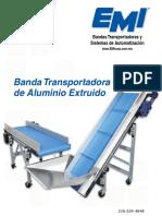 Nuevo! Banda Transportadora de Aluminio Extruido. Bandas Transportadoras y Sistemas de Automatización.