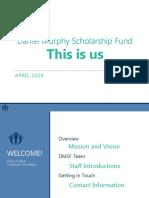 dmsf class of 2024 freshman orientation welcome