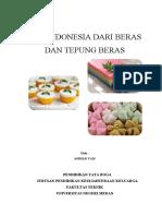 Bahan Ajar Kue Indonesia