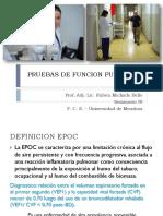 PRUEBAS DE FUNCION PULMONAR FACULTAD 2020