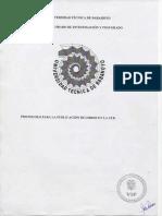 Protocolo para la publicacion de libros en la UTB