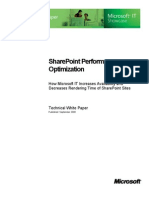 SharePoint Optimization TWP