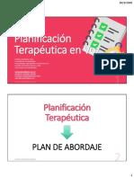 Planificación Terapéutica