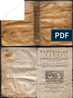 Pe. Liborio Siniscalchi, S.J. - Panegirici Sacri