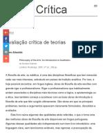 Aires Almeida - Filosofia das artes