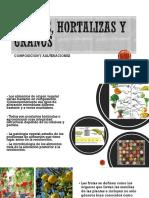 FRUTAS, HORTALIZAS Y GRANOS
