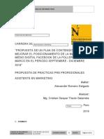 Estructura de Informe Final Polleria Don Marco