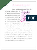 Cinder Ella Comparison and Contrast Essay
