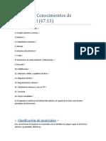 Resumen Materiales I - Askeland
