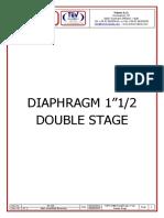 DS 108 Data Sheet Membrana 15'' Doppio Stadio REV 1