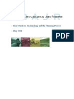 Guide to Archaeology and the Planning Process