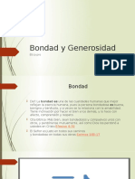 Bondad y Generosidad ppt