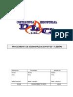 DLC-PR-02  Procedimiento de Desmontaje de Soportes y tuberias. Ver 01