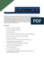 TAL DUB III Dokument