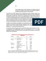 TECNICAS DETERMINACIN DE PESO MOLECULAR