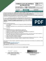 F-SSC-002 Formato acta de entrega de proyectos v1.3 ZonaPAGOS PortoAzul