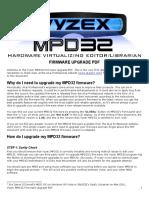 Vyzex MPD32 Firmware Upgrade PDF