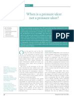 When is a pressure ulcer not a pressure ulcer