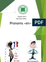 Pronoms «en» et «y»
