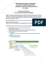 Lab 0 Bases de Datos Physionet 2020-1