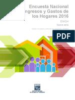 MANUAL encuestador ENIGH México 2016